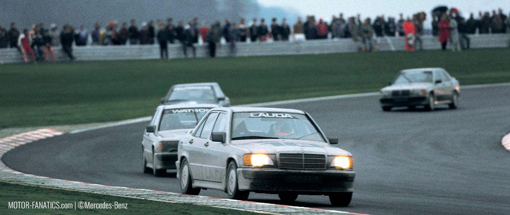 Niki Lauda Mercedes Benz 190e 2.3 16v at Nurburgring
