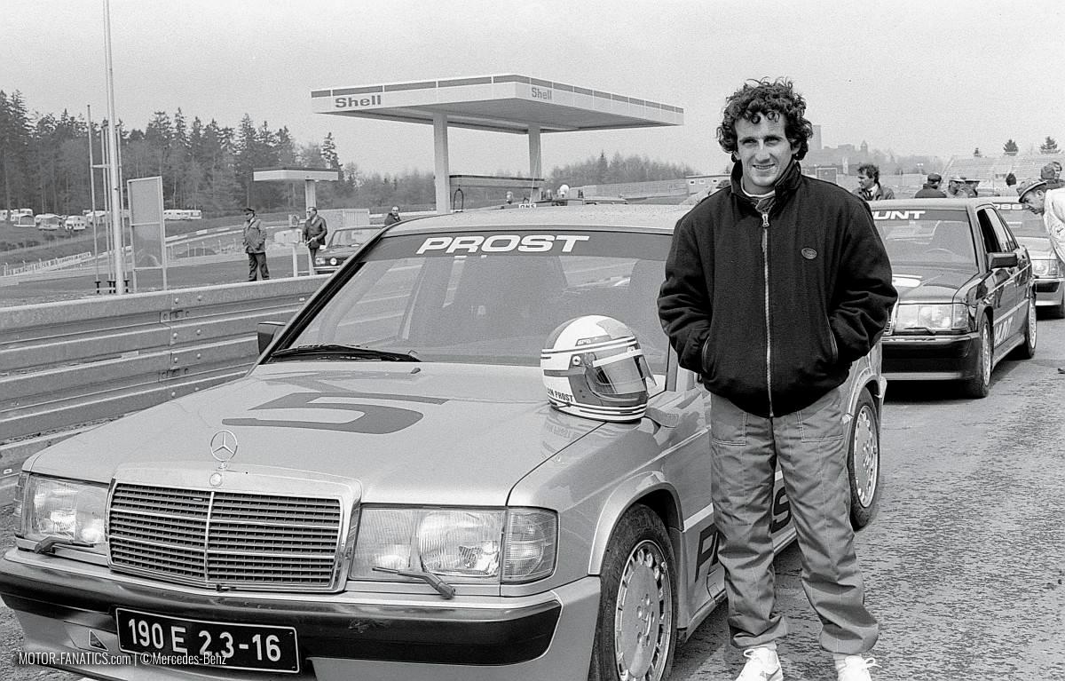 1984 Nurburgring Race Mercedes Benz 190e 2.3 16v Alain Prost