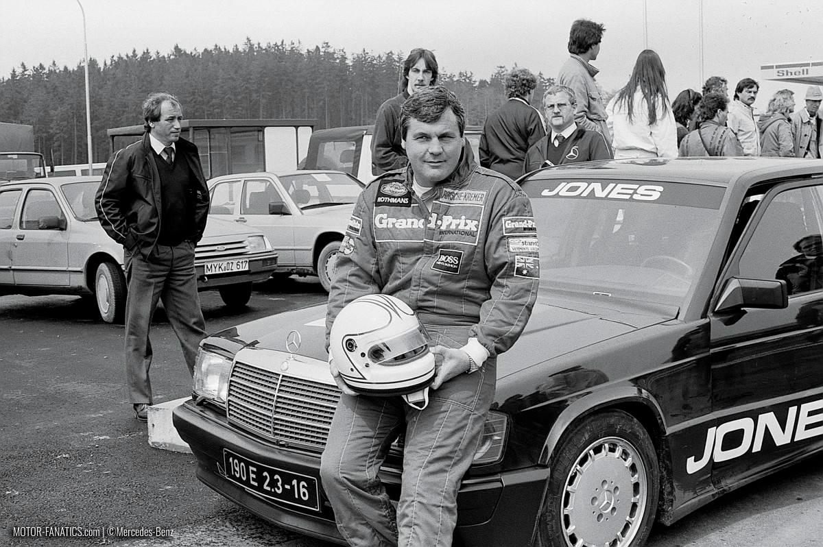 1984 Nurburgring Race Mercedes Benz 190e 2.3 16v Alan Jones
