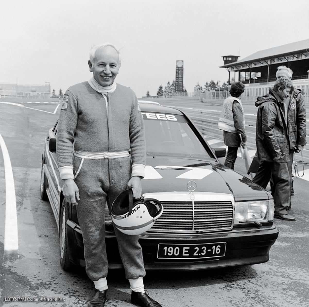 1984 Nurburgring Race Mercedes Benz 190e 2.3 16v John Surtees