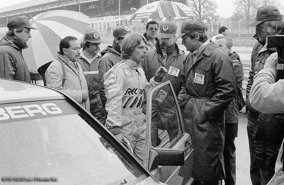 1984 Nurburgring Race Mercedes Benz 190e 2.3 16v Keke Rosberg