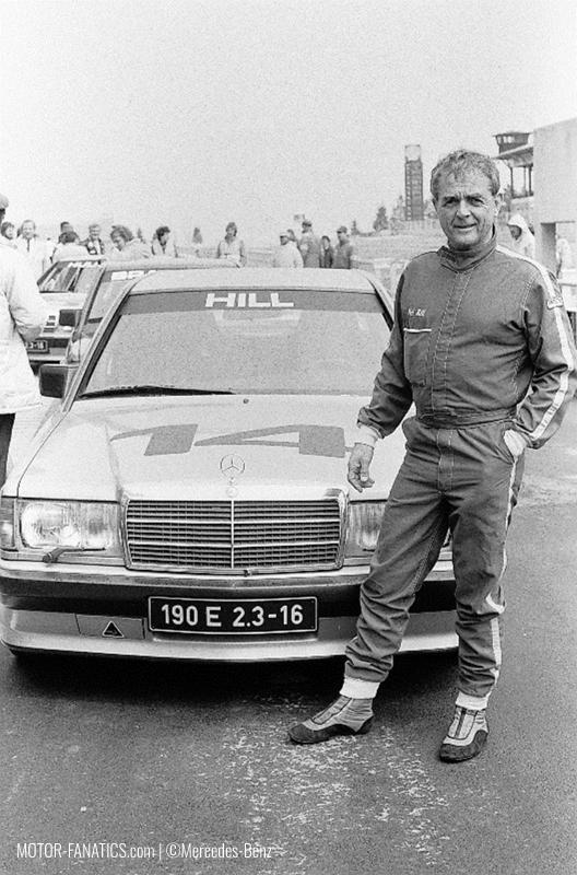 1984 Nurburgring Race Mercedes Benz 190e 2.3 16v Phil Hill