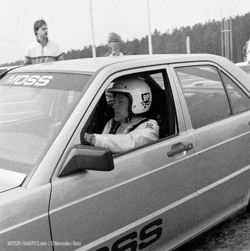 1984 Nurburgring Race Mercedes Benz 190e 2.3 16v Stirling Moss