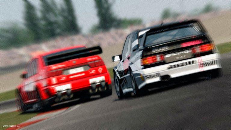 Assetto Corsa 90s DTM Alfa Romeo 155 V6 TI Mercedes 190E AMG Evo 2