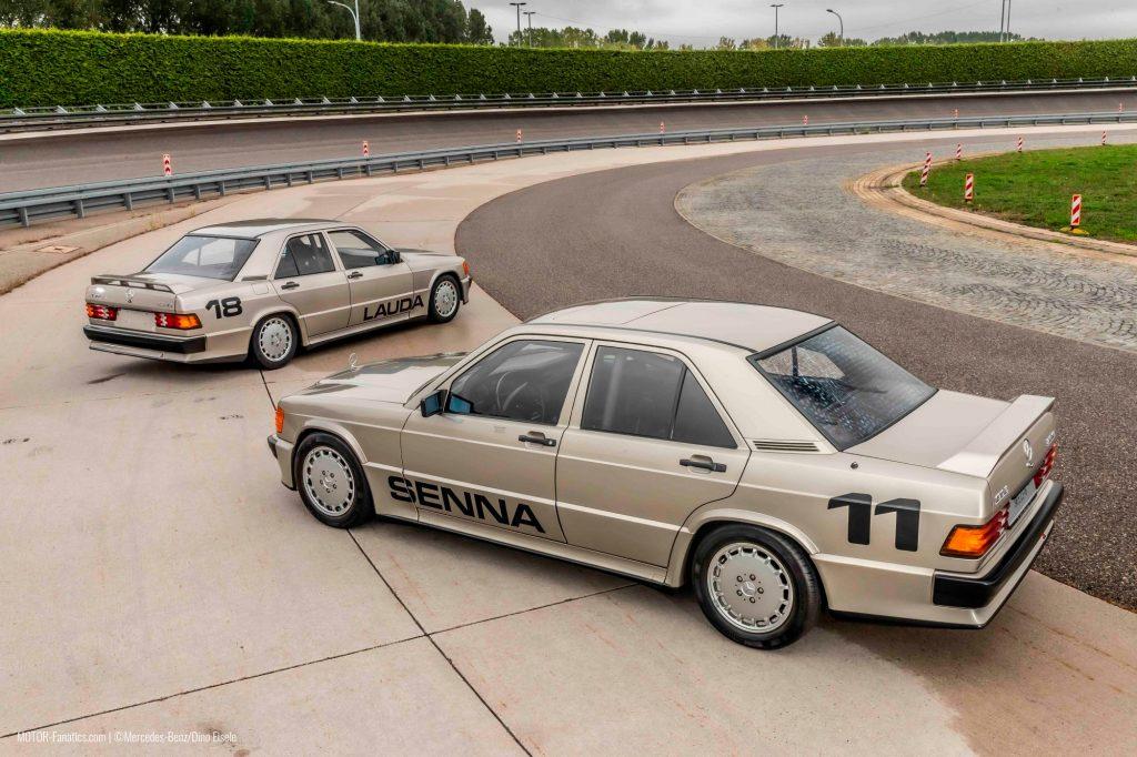 Mercedes Benz 190e 2.3 16v Ayrton Senna Niki Lauda