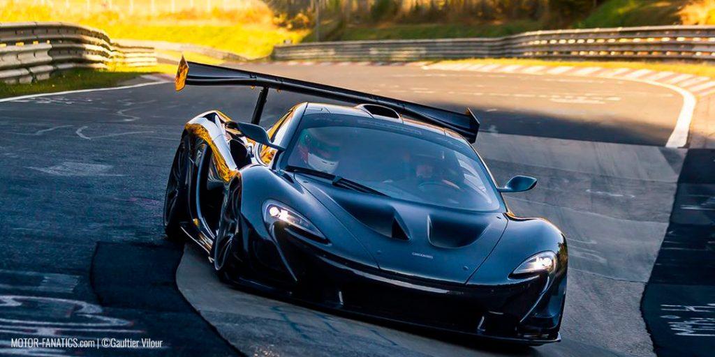 McLaren P1 XP1 LM Prototype Lanzante -  Nuburgring Nordschleife Lap Records