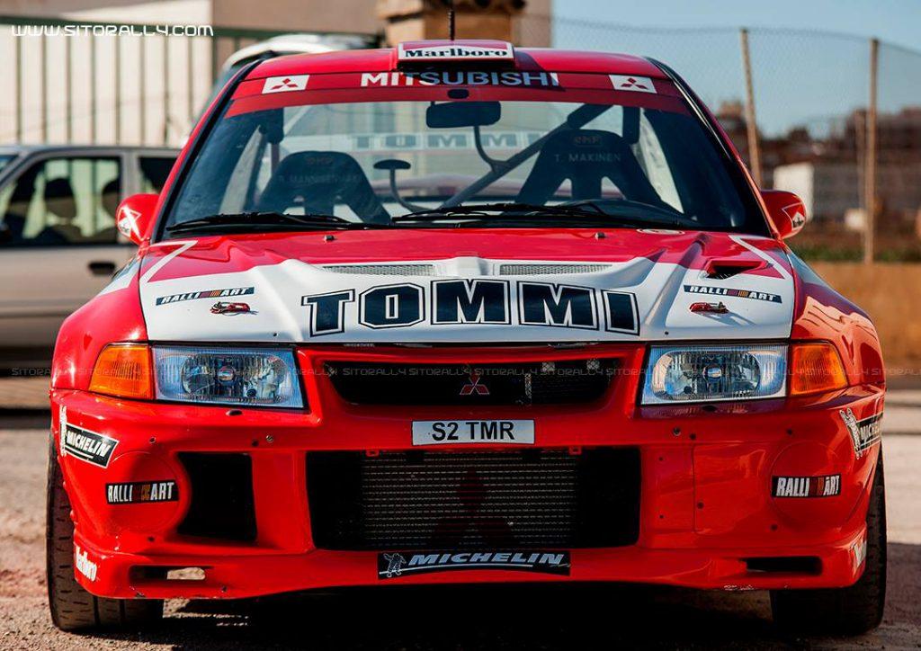 Sito Rally Mitsubishi Lancer EVO IV Tommi Makinen