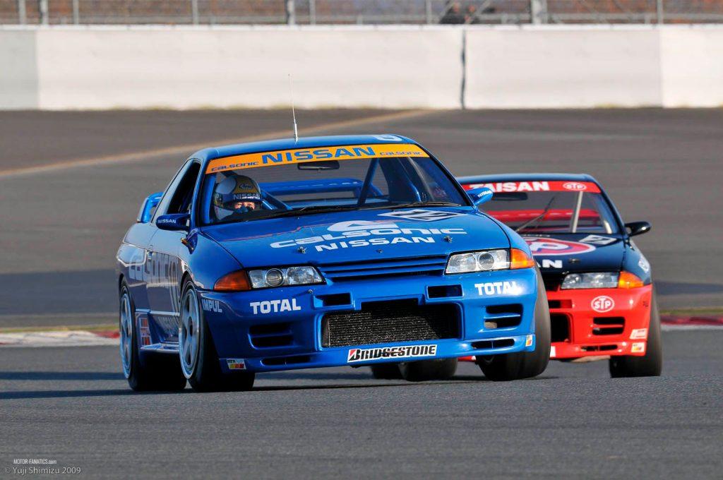 Japanese Racing Cars - Nissan Nismo Calsonic GT-R R32 Skyline