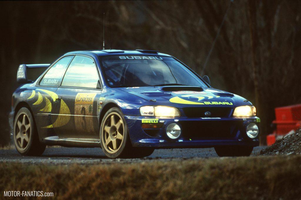 Japanese Racing Cars- Subaru Impreza Prodrive Colin McRae