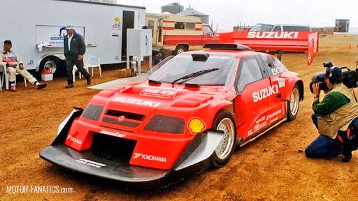 Japanese Racing Cars - Suzuki Escudo V6
