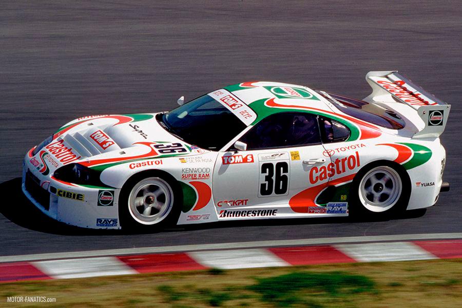 Japanese Racing Cars - Toyota TOM's Castrol Supra GT500 JGTC