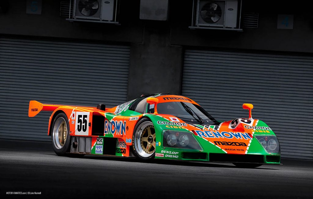 Japanese Racing Cars - Mazda 787B by Luke Munnell