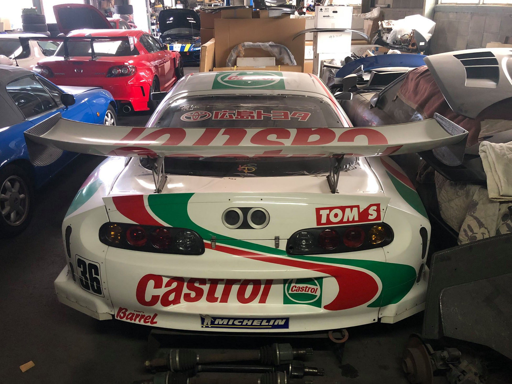 Castrol Tom's Supra restoration project